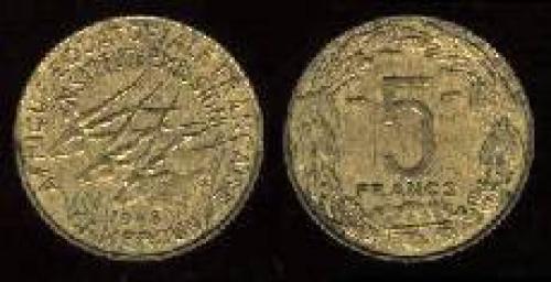 5 francs 1958 (km 24)
