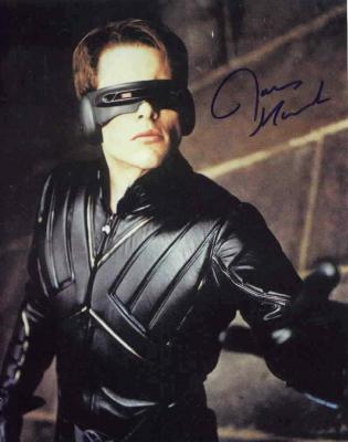 James Marsden autographed 8x10 X-Men Cyclops photo