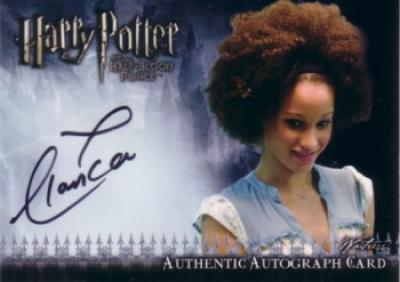 Elarica Gallacher certified autograph Harry Potter and the Half-Blood Prince Update card