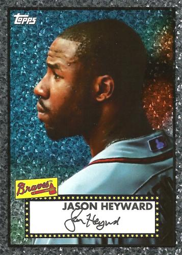 2011 Topps Black Diamond Wrapper Redemption #40 ~ Jason Heyward