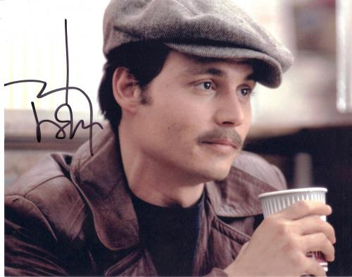 JOHNNY DEPP 8X10 AUTOGRAPHED PICTURE SUPER LOOKING FREE SHIPPING