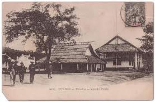 Post Offices of French Indo China; Tonkin Postcard (1904)