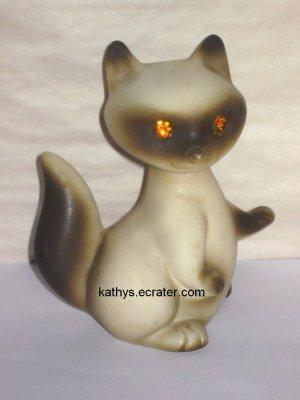 Roselane Mother Raccoon Sparkler Rhinestone Eyes Animal Figurine