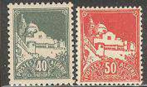 Definitives 2v; Year: 1942