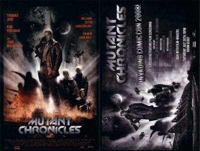 Mutant Chronicles 2008 Comic-Con 6x9 promo card