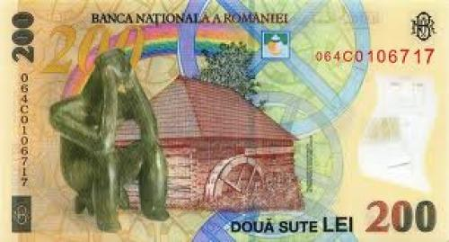 Banknotes; Romania New 200Lei ; Year: 2006