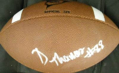 Demaryius Thomas autographed Wilson NCAA football