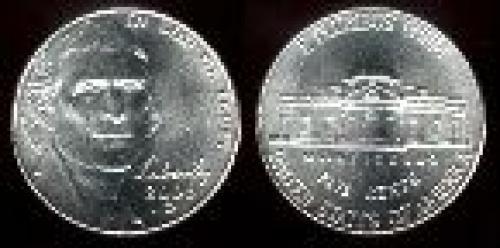 5 cents; Year: 2006; Forward-facing. Jefferson