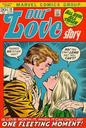 Comics; Marvel Love Story Art