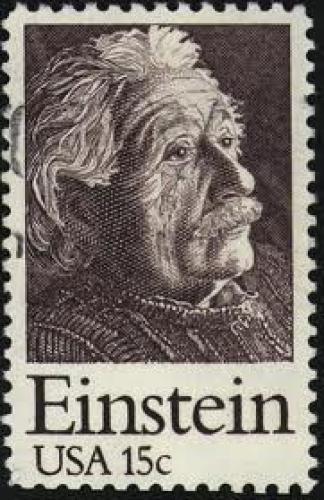 Stamps US; Albert Einstein (1879-1955), USA, 1979, 53