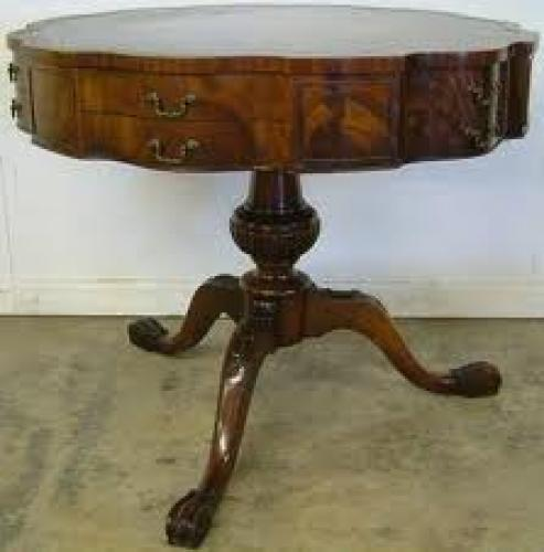Antiques;  furniture from the 1920&#039;s-1950&#039;s era; round table