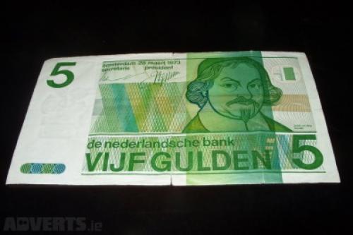 5 guilder Netherlands 1968