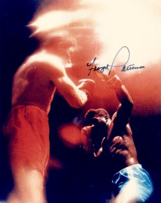 Floyd Patterson autographed 8x10 boxing photo