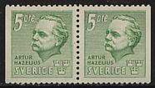 A. Hazelius booklet pair; Year: 1941