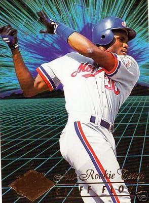 1994 Ultra All-Rookie Team 10 card jumbo set (Carlos Delgado Ryan Klesko Javy Lopez Chan Ho Park)
