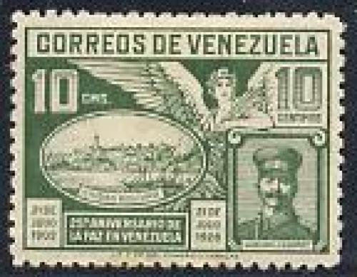 75 years peace 1v; Year: 1928
