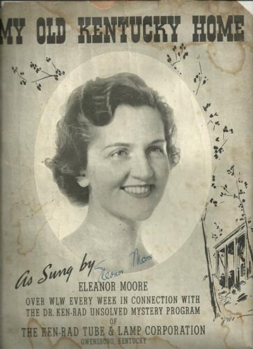 My Old Kentucky Home Sheet Music