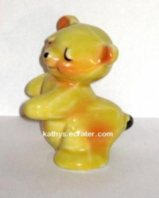 Shaker: Van Tellingen Hugger Yellow Bear Salt Pepper Animal