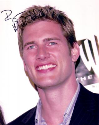 Ryan McPartlin autographed 8x10 photo