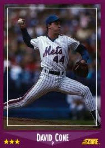 Baseball Card; Random Baseball Card #397: pitcher David Cone