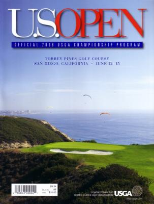 2008 U.S. Open program (Tiger Woods wins 14th major)