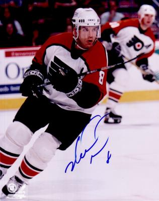 Mark Recchi autographed Philadelphia Flyers 8x10 photo