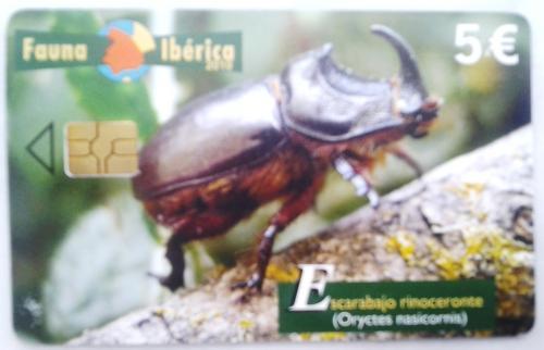 Spanish Phonecard-Fauna Iberica