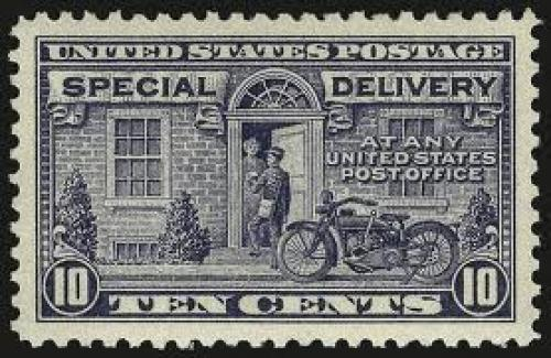 US Stamp - Special Delivery-1902-E12a