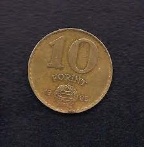 Coins; Hungary 10 Forint 1985 
