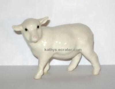 Hagen Renaker White Ewe Sheep #275 Animal Figurine