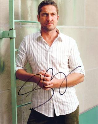 Gerard Butler autographed 8x10 photo