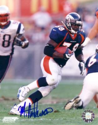 Mike Anderson autographed Denver Broncos 8x10 photo