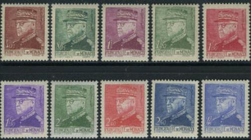 Definitives 10v; Year:  1941