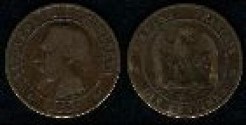 10 centimes; Year: 1852-1857; (km 771)
