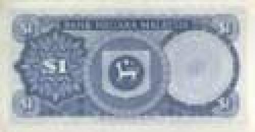 1 Dollar; Issue of 1981