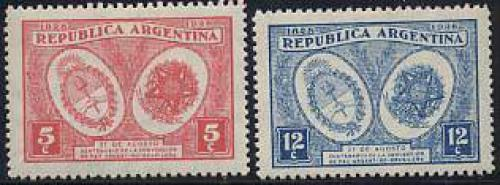 Peace with Brazil 2v; Year: 1928