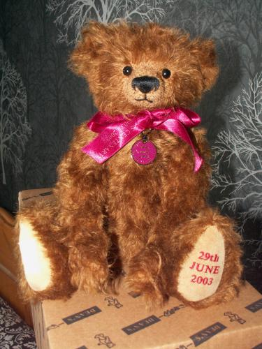 DEANS RAG BOOK Limited Edition 100th Birthday Cardiff Jamboree Bear