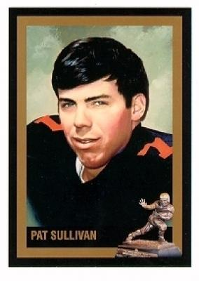 Pat Sullivan Auburn Heisman Trophy winner card