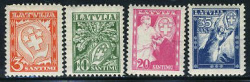 White cross 4v; year: 1936