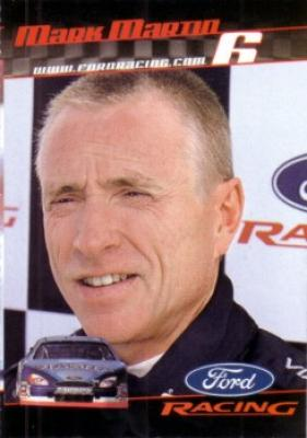 Mark Martin 2001 Ford Racing Sports Illustrated for Kids card