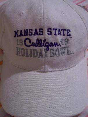 Kansas State 1999 Holiday Bowl cap NEW