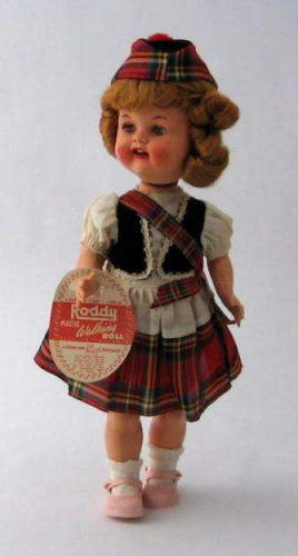 Dolls; Vintage Roddy Doll - All Original English Walking Doll
