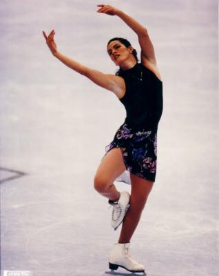 Nancy Kerrigan 8x10 skating photo