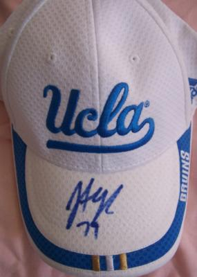 Jonathan Ogden autographed UCLA Adidas cap