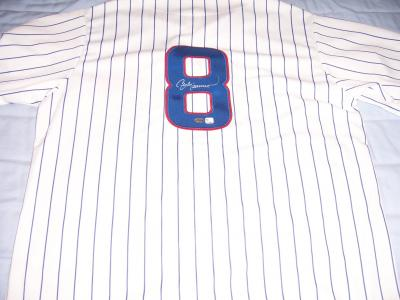 Andre Dawson autographed Chicago Cubs authentic jersey (TriStar)