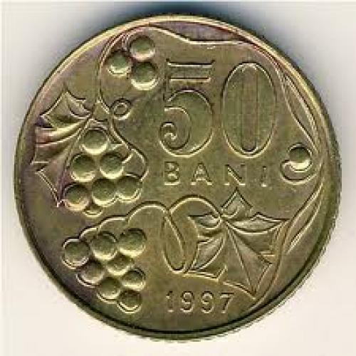 Coins;  Moldova, 50 bani, 19972008 ... 