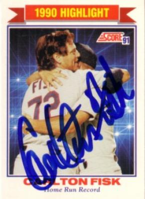 Coollectors - Collectible Item - Autographs - Fred Lynn autographed