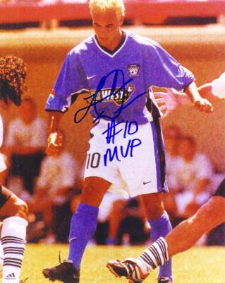 Landon Donovan autographed 2001 MLS All-Star Game 8x10 photo