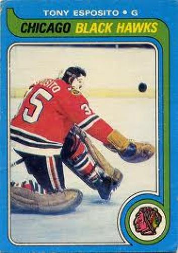 Tony Esposito, Chicago Blackhawks, NHL,