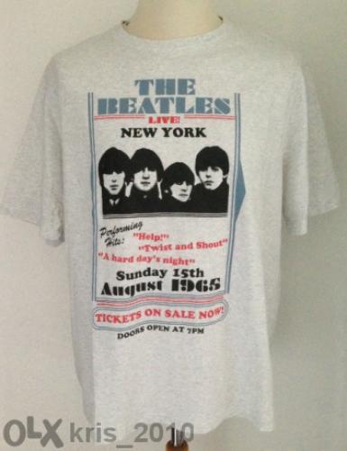 Retro T-shirt-the Beatles-1965